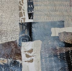 Collage art of Laura Lein-Svencner: Response to- Let go of perfect