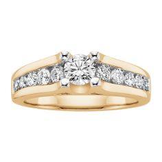 Littman Jewelers   1 ct. tw. Diamond Engagement Ring
