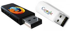 Portable web browsers are installed on a thumb drive. The benefit of having it installed on your thumb drive is that you will not have to install it on a computer. Also any web browsing or favorites you add will be added to the thumb drive and not the computer itself.