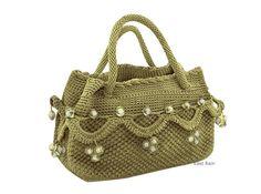 crochet bag handmade crochet handbag party bag personalized bag personalized tote summer fashion green tote bag evening bag advent  bagbab