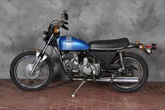 1973 Harley-Davidson SS350 Engine no. 6A12347H3