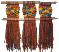 weaving – Cecilia Vaccari – – ed mckee 506 – weberei Weaving Textiles, Weaving Art, Tapestry Weaving, Loom Weaving, Weaving Wall Hanging, Fibre And Fabric, Weaving Projects, Weaving Techniques, Rugs