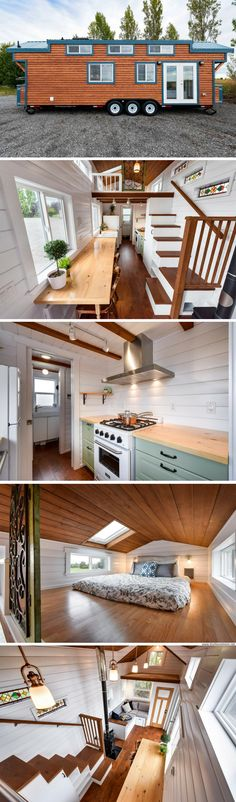 A flawless 30' tiny house from the Mint Tiny Home Company