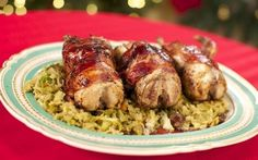 Roasted Red Partridge with Savoy Cabbage and Pancetta Recipe