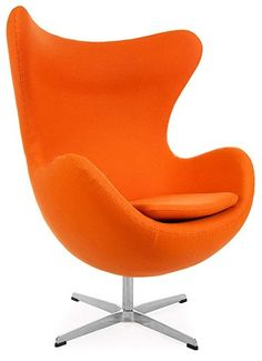 brass kube chair in hermes orange faux leather living room chairs