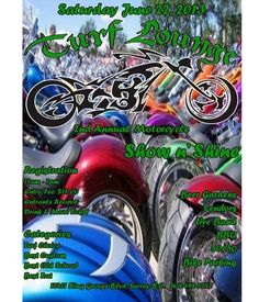 The Turf Lounge presents MOTORCYCLE SHOW N' SHINE - 2nd Annual Shining 2, Custom Bikes, Surrey, Bbq, Presents, Lounge, Motorcycle, Barbecue, Gifts