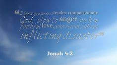 Jonah 4:2 Prophet Jonah, Thank You Jesus, Knowing You, Love, Amor, Romances