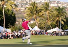 Russell wins the Sony Tourn. in Hawaii.  First win in his first PGA Tour game.  WOW!