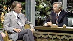 Johnny Carson, Billy Graham, Tonight Show, Television Program, Christians, Word Of God, A Good Man, Amen, Bible Verses