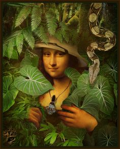 Jungle Mona...by The Whimsey Asylum