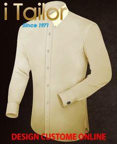 Design Custom Shirt 3D $19.95 chemise homme Click http://itailor.fr/shirt-product/chemise-homme-infroissable_it885-1.html