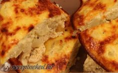 Tepsis, karfiolos csirkemell recept fotóval Mashed Potatoes, Banana Bread, Paleo, Food And Drink, Pizza, Yummy Food, Cheese, Breakfast, Ethnic Recipes