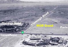 The early days of Las Vegas