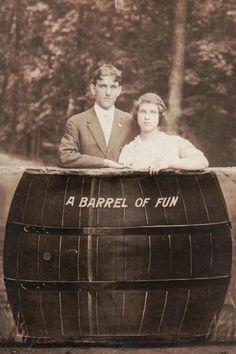 Un barril de diversión.