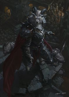 ArtStation - Werewolf, King of Lycan, KD Stanton