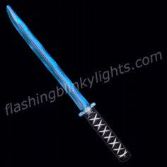 Be a modern day warrior with a Deluxe LED Ninja Sword by FlashingBlinkyLights.com