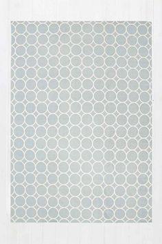 Circle Dot 5x7 Rug in Grey €90-UO