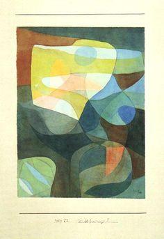 Paul Klee - Light-Broadening I, 1928