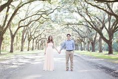 Oliva & AJ gave me the amazing opportunity to photograph their engagement session in Savannah, Ga. What a blast their session was, especially since this was my first trip to explore this gorgeo…