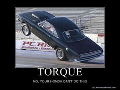No matter how big your turbo is.