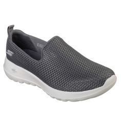 Comfort Athletics™Rediscover the joy of walking in total comfort with the Skechers GOwalk Joy™. Features innovative midsole design and an advanced mesh fabric upper with new Skechers Goga Max® insole for the most advanced walking experience ever. Sneakers Fashion, Shoes Sneakers, Skechers Performance, Ideal Fit, Men S Shoes, Walking Shoes, Nike Free, Casual Shoes, Athletic Shoes