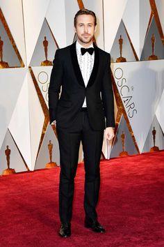 Ryan Gosling by Gucci - Oscars 2017
