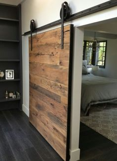 Rustic Industrial Sliding Door