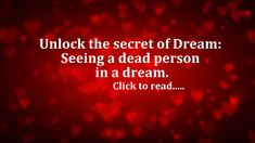 Dreams related to a dead person have a definite meaning and must be considered seriously. seeing dead person alive in various ways is discussed here. Dream Definition, How To See Aura, Andy Warhol Quotes, Dream Meanings, Buddhist Meditation, Sound Healing, Beautiful Posters, Dream Quotes, Fitness Motivation Quotes
