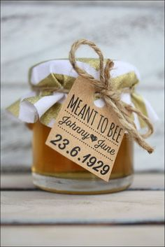 Unique Wedding Gifts For Guests. wedding favors 48 Unique Wedding Gifts For Guests - Fashion and Wedding Wedding Favour Jars, Honey Wedding Favors, Creative Wedding Favors, Inexpensive Wedding Favors, Elegant Wedding Favors, Quirky Wedding, Wedding Gifts For Guests, Unique Wedding Favors, Wedding Party Favors
