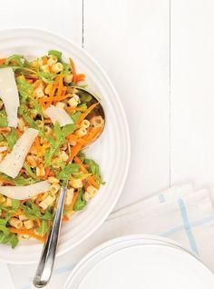 Pasta Salad with Citrus Recipes Citrus Recipes, Salad Recipes, Healthy Recipes, Healthy Food, Unique Recipes, Ethnic Recipes, Ricardo Recipe, Citrus Vinaigrette, Salad Sandwich
