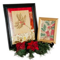 Bulk Christmas Craft: Framed Gift Bags at DollarTree.com