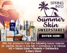 #Spring Skin Care Starter Kit #Giveaway! #Win a gift basket packed with $1,000+ of top, luxury brands! http://virl.io/EAqggKBV 5/29