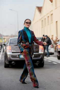 Milan Fashion Week Street Style Fall 2018 Day 4 Cont.