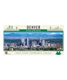 Another great find on #zulily! Denver Panoramic 1,000- Piece Puzzle #zulilyfinds