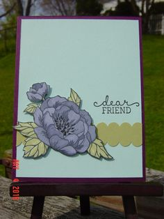 CC/SC ~ Dear Friend by Redbugdriver - Cards and Paper Crafts at Splitcoaststampers