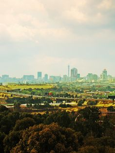 The famous Joburg skyline. www.southafrica.net Beautiful Places To Visit, Oh The Places You'll Go, Johannesburg City, Namibia, Out Of Africa, Pretoria, The Beautiful Country, Dream City, Africa Travel