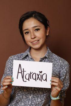 Ataraxia, Erika Vargas, Estudiante, Monterrey, México.