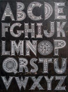"""The Alphabet"" by TINDEL"