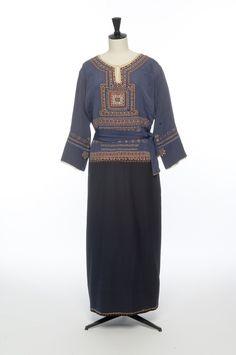 1920 - Lanvin. Silk, wool.