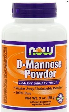 Now Foods D Mannose UTI prevention and cure remedy review
