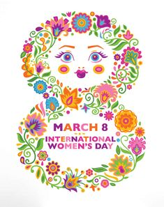 Design an International Women's Day Wall Decal in Adobe Illustrator - Tuts+ Design & Illustration Tutorial International Womens Day Poster, Happy International Women's Day, Women's Day 8 March, 8th Of March, Happy Woman Day, Happy Women, Illustrator Tutorials, Adobe Illustrator, Woman Day Image