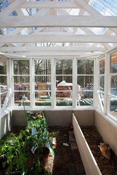 kasvihuone vanhoista ikkunoista - Google-haku