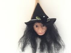 Your place to buy and sell all things handmade Witch Face, Kitchen Witch, Wooden Spoons, Riding Helmets, All Things, My Etsy Shop, Buy And Sell, Handmade, Stuff To Buy