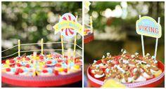Festa Parque de Diversões: decoração para docinhos - Foto Carolina Menezes Fotografia Social