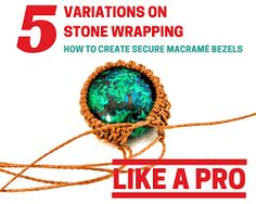 Image result for wrapping the back of a cabochon