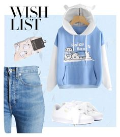 """""""#PolyPresents: Wish List"""" by ania-personal-stylist on Polyvore featuring RE/DONE, Topshop, Puma, contestentry and polyPresents"""