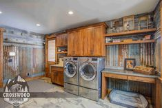 Reclaimed Laundry Room