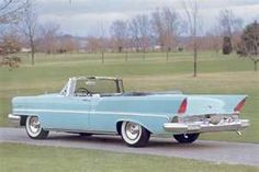 1957 Lincoln premiere. Sure sign of spring in the 60s. The neighbors took their red one out on the weekends.
