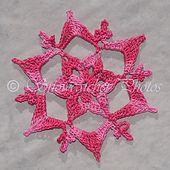 Last Minute Snowflake pattern by Deborah Atkinson