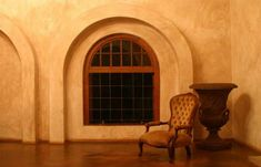 tuscan style arch